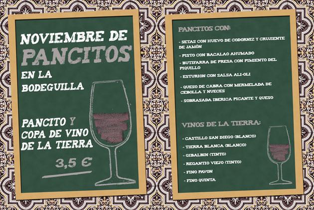 pancitos noviembre 2010 La Bodeguilla del Bar Jamón