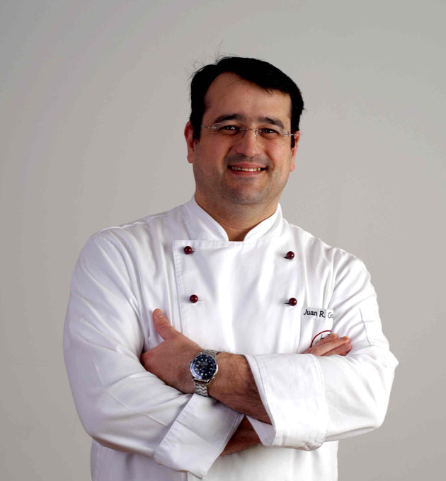 El cocinero Juan Ramón González Higuero