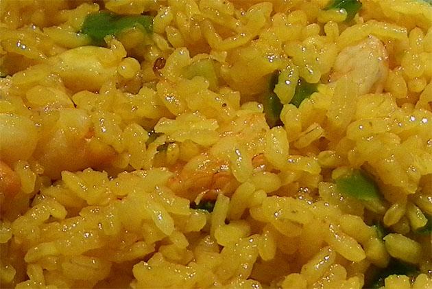 El arroz, protagonista de estas jornadas. Foto: Cosas de Comé.