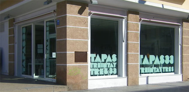 Vista exterior de Tapas 33. Foto: Cosas de Comé