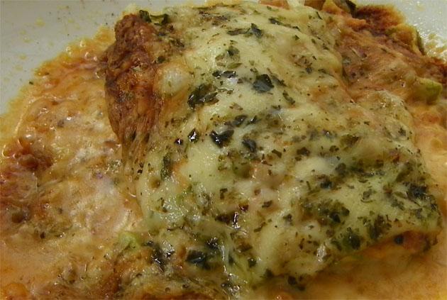 La mousakka de calabacines. Foto: Cosas de Comé