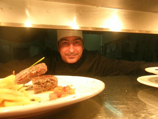 Antonio Miralles Valdés, jefe de cocina del restaurante El Refectorio. Foto: Cosas de Comé.