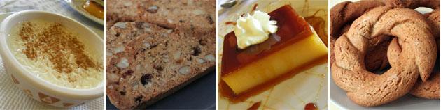 Los postres de la comida de Cuaresma: Fotos: Lola Monforte
