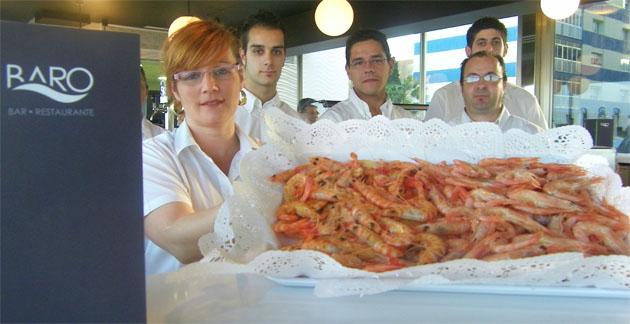 El marisco cocido será uno de los grandes protagonistas de la carta de la nueva cervecería marisquería Baro. Foto: Cosas de Comé.