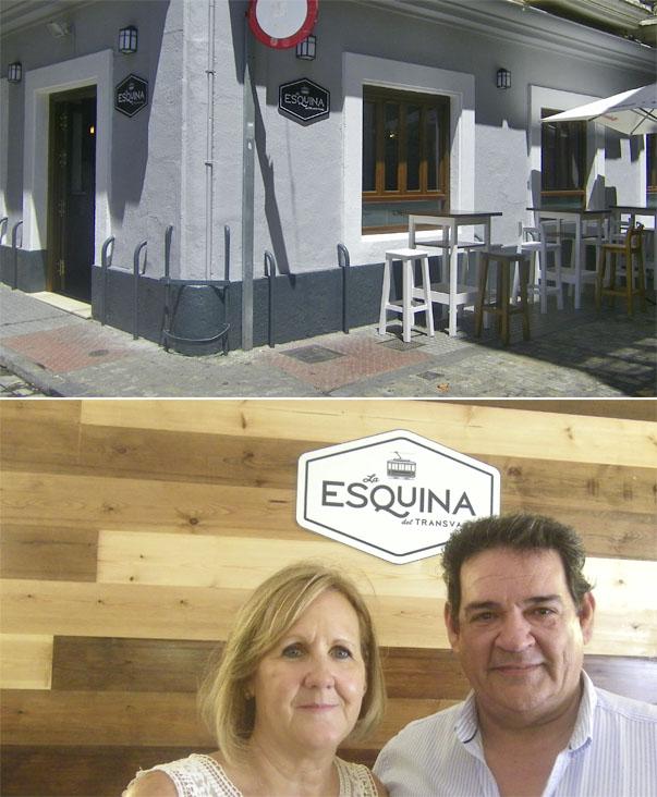 Vista exterior del establecimiento. Ana María Mora y Faustino Gómez. Fotos: Cosasdecome